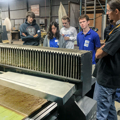 Students Learn Creative Engineering at TXRX Labs