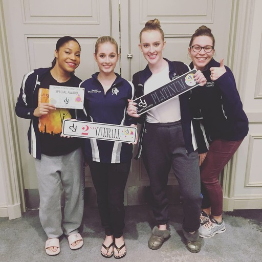 Dance Wins Platinum at Dupree Competition