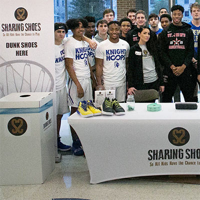 EHS and SJS Team Up for Sharing Shoes