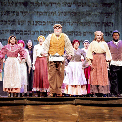 """Fiddler on the Roof"" Celebrates Theatre Re-Opening"