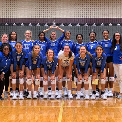 Girls Volleyball Takes Third at the Adidas John Turner Classic