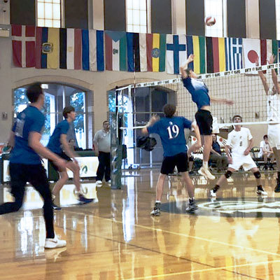 Boys Volleyball Wins SPC Opener