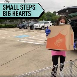 Big Hearts for Small Steps
